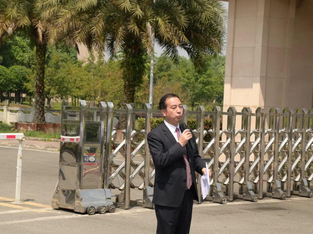 中国五冶职工大学  中国五冶高级技校温江新校区揭牌仪式隆重举行