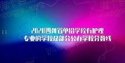 2020四川省单招学校有护理专业的学校
